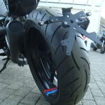 R nineT Racer blacked out